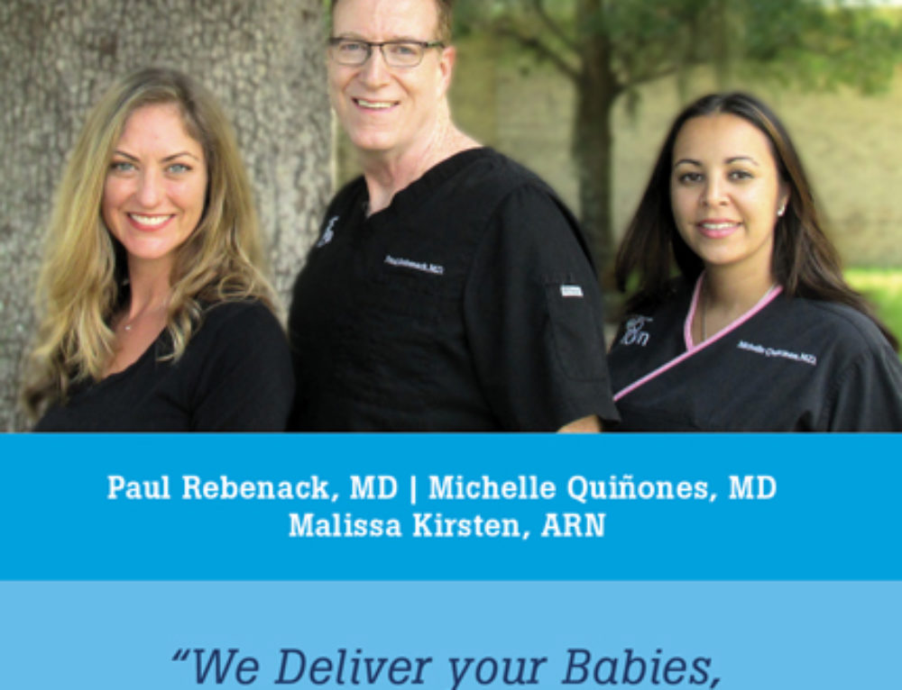 North Florida OBGYN 4 x 8 Promo Flyer