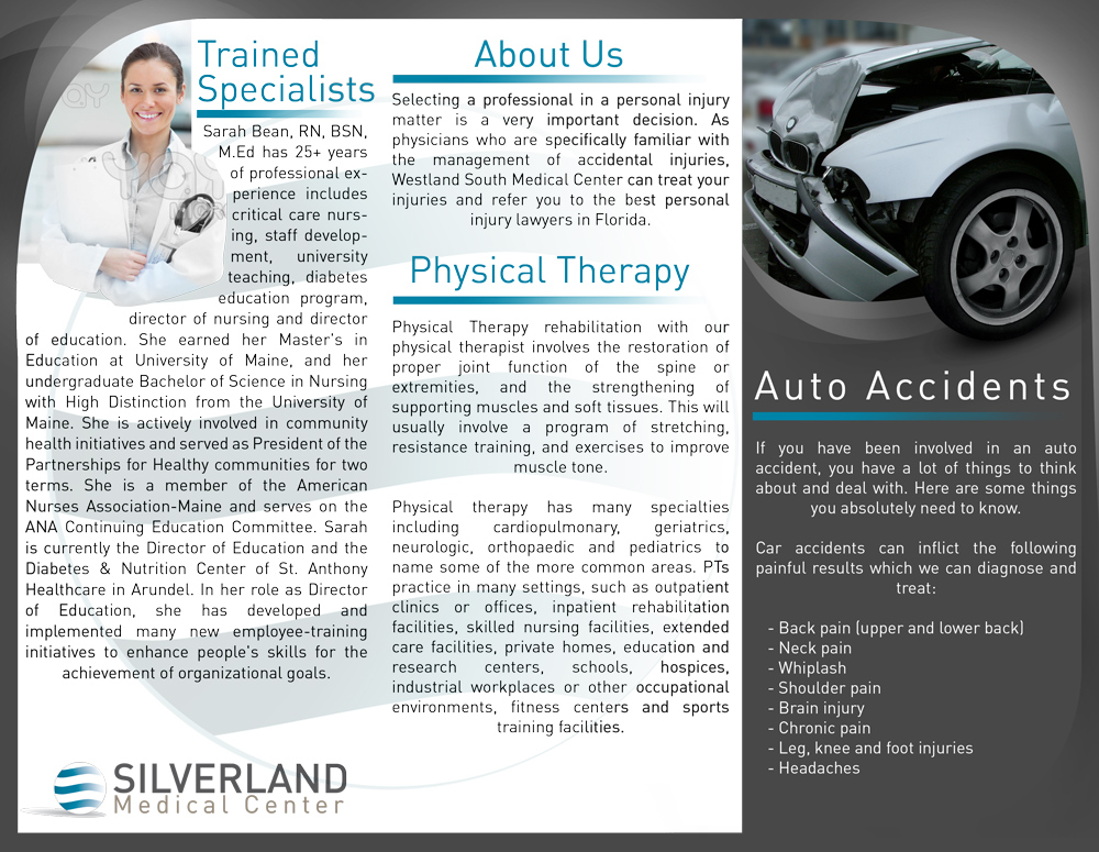 Silverland Trifold Brochure